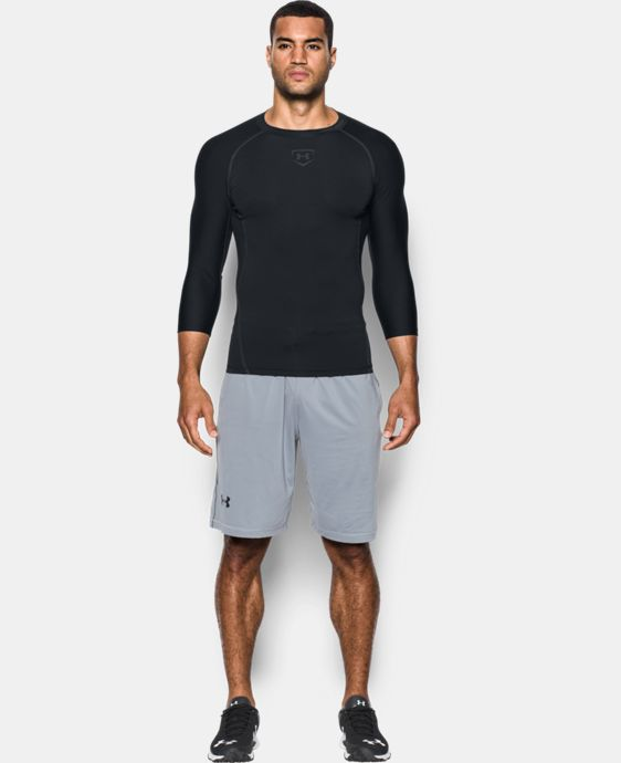 Men's UA Zone Compression ¾ Sleeve  3 Colors $39.99