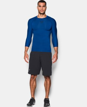Men's UA Zonal Compression ¾ Sleeve  1 Color $20.99 to $22.49