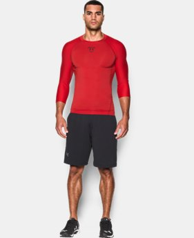 Men's UA Zonal Compression ¾ Sleeve  1 Color $23.99 to $27.99