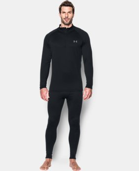 New Arrival  Men's UA Base 2.0 ¼ Zip   $69.99
