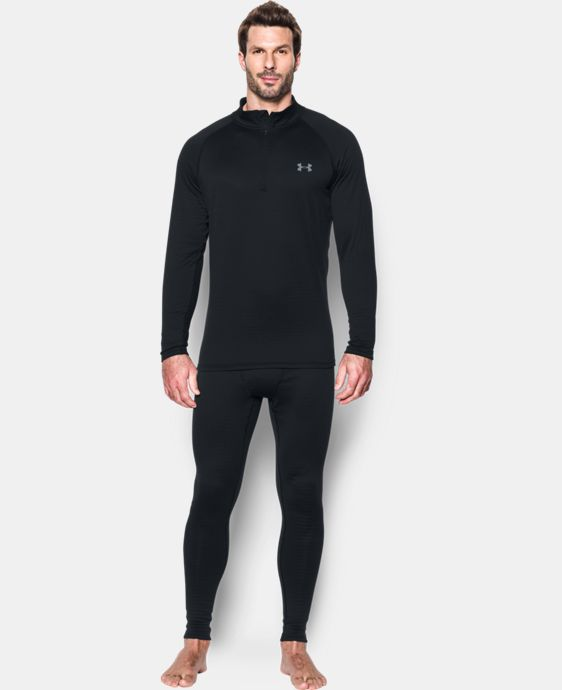 Men's UA Base™ 2.0 ¼ Zip LIMITED TIME: FREE U.S. SHIPPING 1 Color $59.99