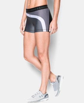 "Women's UA HeatGear® Armour 3"" Engineered Shorty  LIMITED TIME: FREE U.S. SHIPPING 1 Color $26.99"