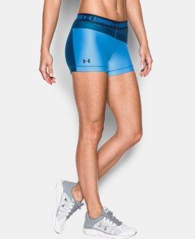"Women's UA HeatGear® Armour 3"" Engineered Shorty LIMITED TIME: FREE SHIPPING 1 Color $34.99"