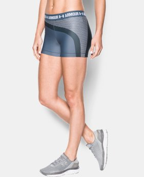 "Women's UA HeatGear® Armour 3"" Engineered Shorty LIMITED TIME: FREE SHIPPING  $34.99"