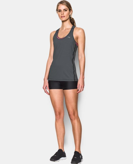 New Arrival  Women's UA Armour Stripe Racer Tank  1 Color $22.99