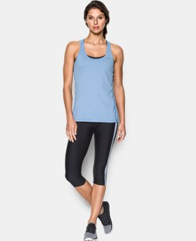 Women's UA Armour Stripe Racer Tank LIMITED TIME: FREE U.S. SHIPPING 4 Colors $18.99