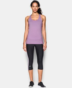 Women's UA Armour Stripe Racer Tank LIMITED TIME: FREE SHIPPING 1 Color $29.99