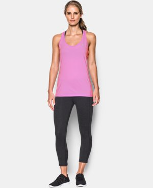 Women's UA Armour Stripe Racer Tank LIMITED TIME: FREE U.S. SHIPPING 1 Color $18.99