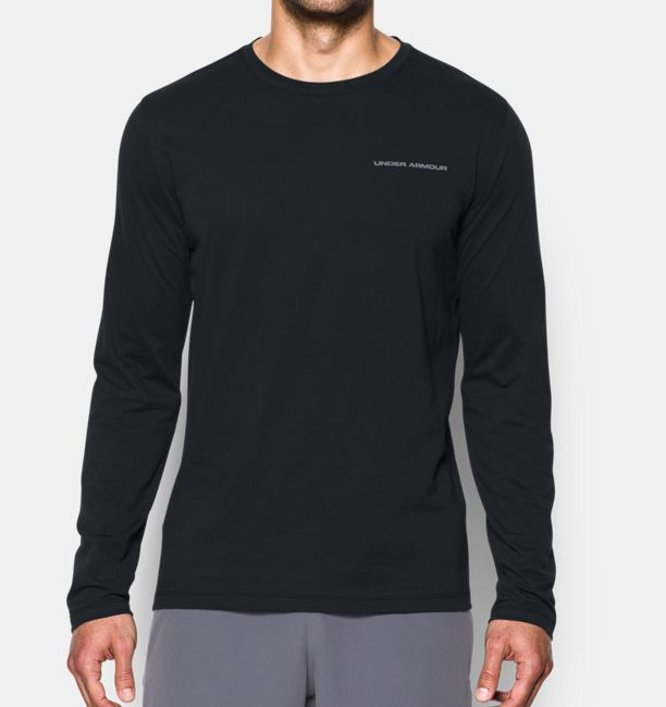 Men's Charged Cotton® Long Sleeve T-Shirt | Under Armour US