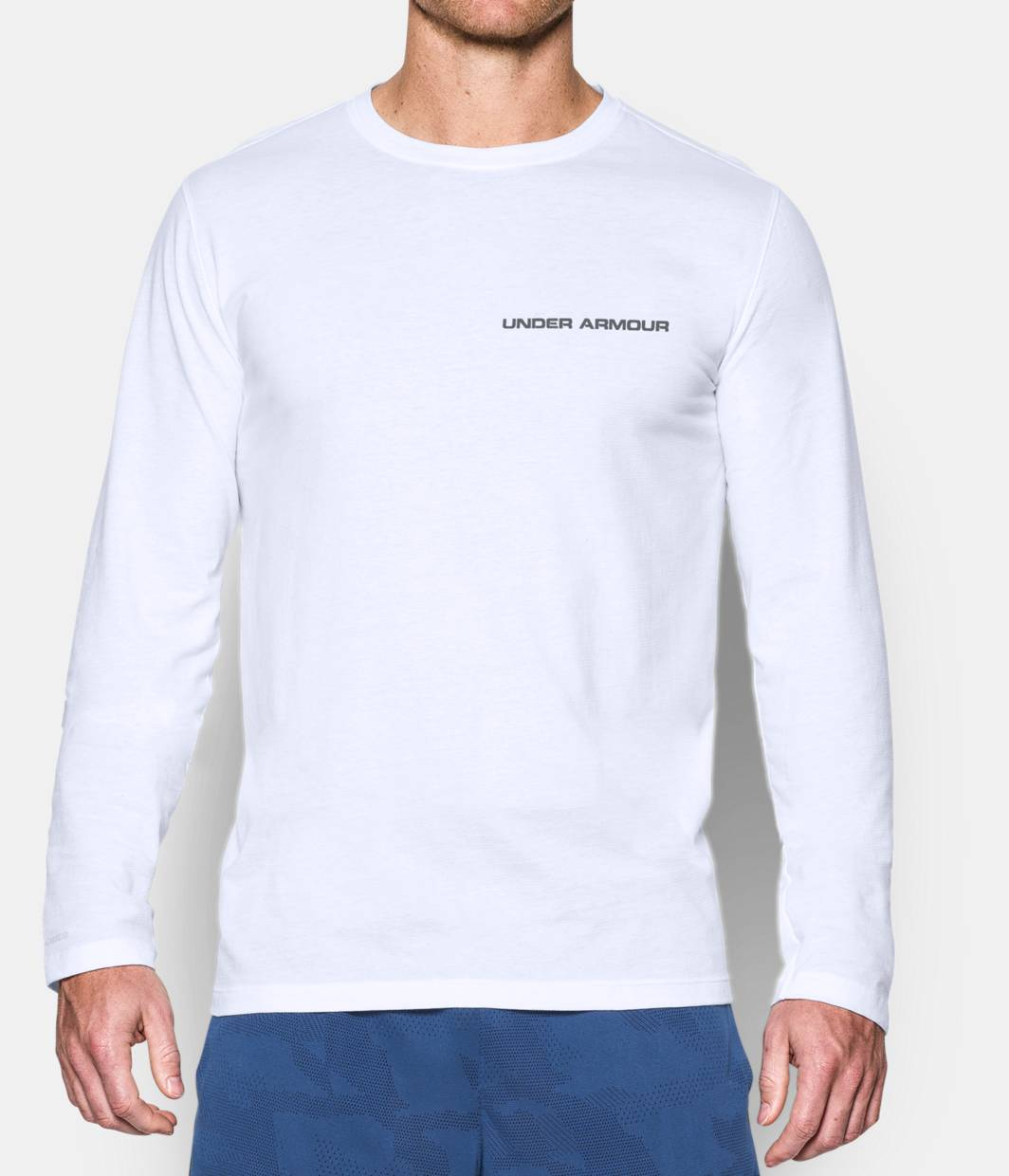 Men's Charged Cotton® Long Sleeve T-Shirt   Under Armour US