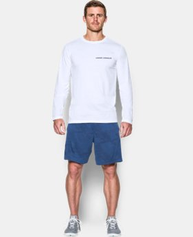 New Arrival  Men's Charged Cotton® Long Sleeve T-Shirt   1 Color $34.99