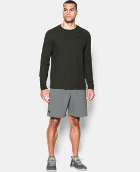 Men's Charged Cotton® Long Sleeve T-Shirt  LIMITED TIME: FREE U.S. SHIPPING 1 Color $20.99 to $22.99