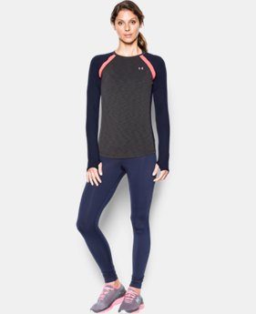 Women's UA ColdGear® Long Sleeve LIMITED TIME: FREE SHIPPING 4 Colors $49.99