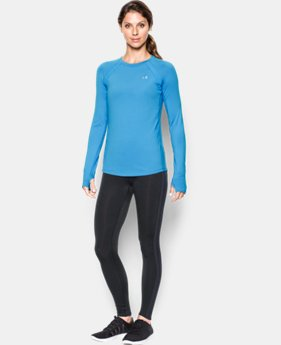 Women's UA ColdGear® Long Sleeve LIMITED TIME OFFER + FREE U.S. SHIPPING 2 Colors $37.49