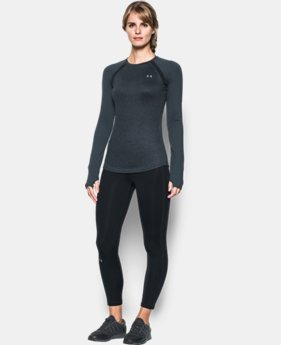 Women's UA ColdGear® Jacquard Long Sleeve LIMITED TIME: FREE SHIPPING 2 Colors $48.74