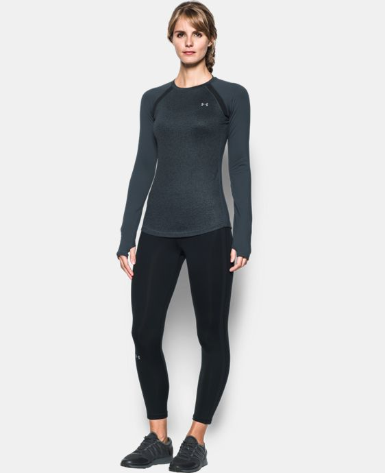 New Arrival  Women's UA ColdGear® Jacquard Long Sleeve  2 Colors $64.99