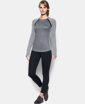 Women's UA ColdGear® Jacquard Long Sleeve LIMITED TIME OFFER + FREE U.S. SHIPPING 1 Color $41.24