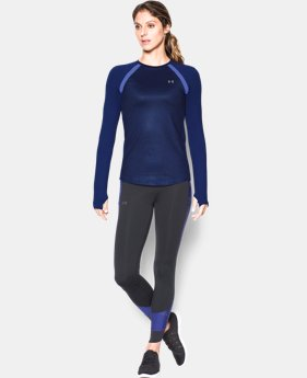 Women's UA ColdGear® Jacquard Long Sleeve  1 Color $31.99 to $41.99
