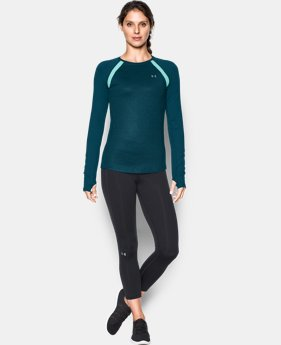 Women's UA ColdGear® Jacquard Long Sleeve  1 Color $41.99