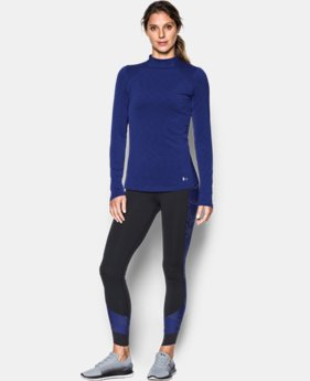 New Arrival  Women's UA ColdGear® Armour Mock  1 Color $64.99