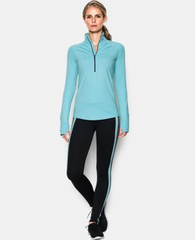 Women's UA ColdGear® 1/2 Zip LIMITED TIME: FREE SHIPPING 1 Color $52.49