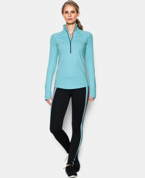 New Arrival  Women's UA ColdGear® 1/2 Zip  1 Color $69.99