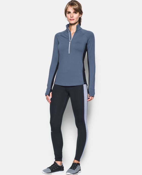 Women's UA ColdGear® 1/2 Zip LIMITED TIME OFFER + FREE U.S. SHIPPING 4 Colors $44.99