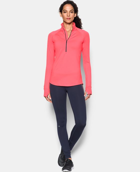 Women's UA ColdGear® 1/2 Zip LIMITED TIME OFFER + FREE U.S. SHIPPING 1 Color $44.99