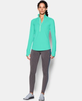 Women's UA ColdGear® 1/2 Zip LIMITED TIME: FREE SHIPPING 2 Colors $52.49