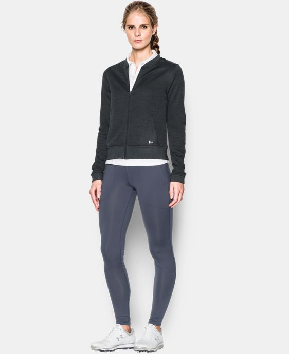 Women's UA Storm Sweaterfleece Full Zip Bomber LIMITED TIME: FREE U.S. SHIPPING 1 Color $59.99 to $79.99