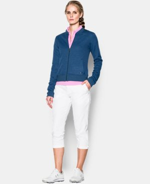 New Arrival Women's UA Storm Sweaterfleece Full Zip Bomber  2 Colors $79.99