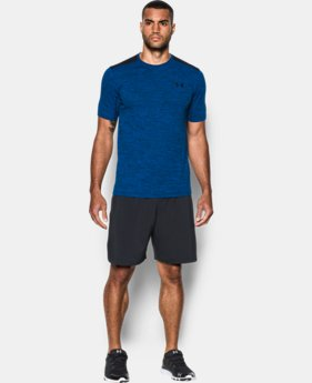 New Arrival Men's UA Raid Turbo Short Sleeve T-Shirt   1 Color $34.99