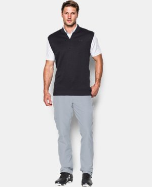 Men's UA Storm SweaterFleece Vest LIMITED TIME: FREE U.S. SHIPPING 2 Colors $48.74