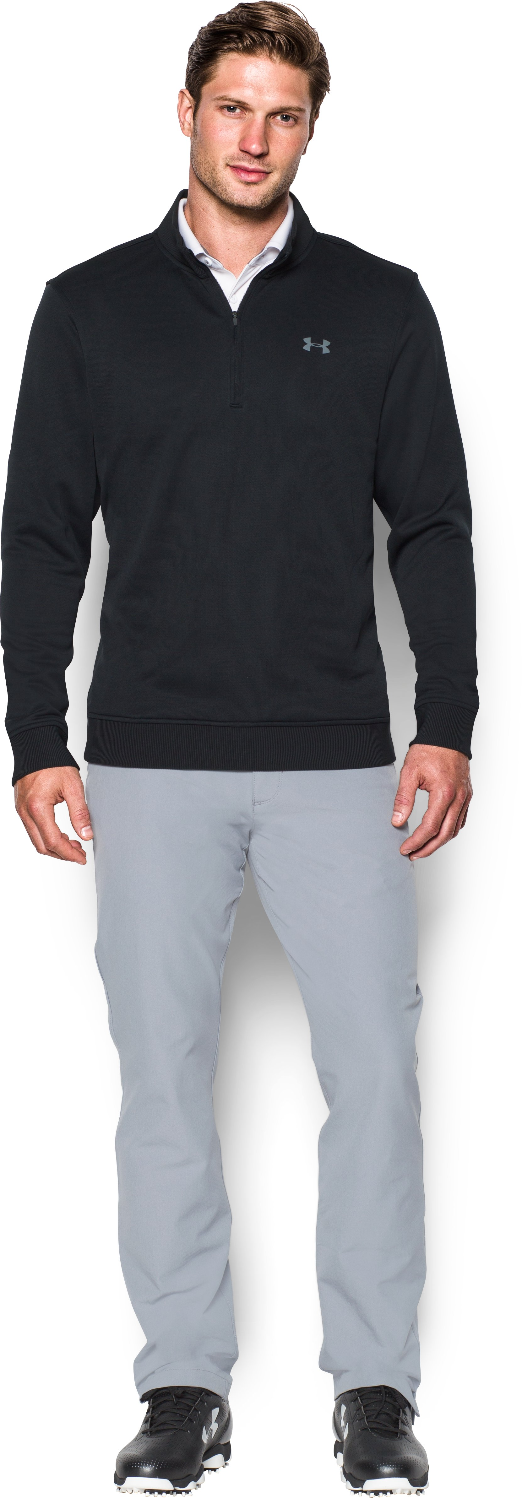 large zips Men's UA Storm SweaterFleece ¼ Zip Definitely my new favorite <strong>sweater</strong>.