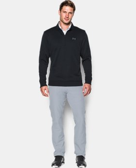Best Seller Men's UA Storm SweaterFleece ¼ Zip  4 Colors $69.99