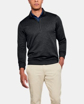 Best Seller Men's UA Storm SweaterFleece ¼ Zip  1  Color Available $69.99