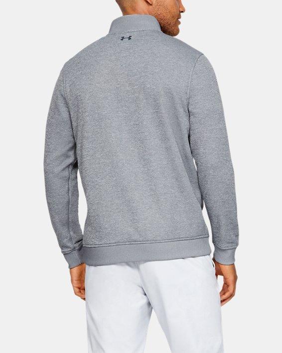 Men's UA Storm SweaterFleece ¼ Zip, Gray, pdpMainDesktop image number 4