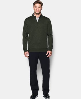Men's UA Storm SweaterFleece ¼ Zip LIMITED TIME OFFER + FREE U.S. SHIPPING 3 Colors $52.49