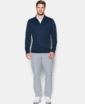 Men's UA Storm SweaterFleece ¼ Zip LIMITED TIME OFFER + FREE U.S. SHIPPING 1 Color $52.49