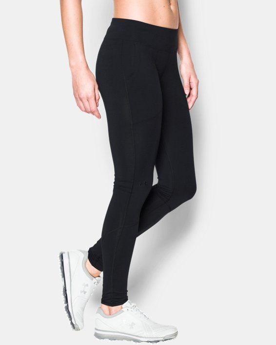Women's UA Links Leggings, Black, pdpMainDesktop image number 0
