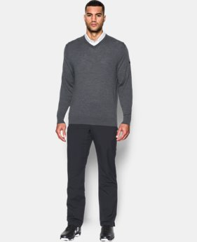 Men's UA Tips V-Neck Sweater  2 Colors $74.99