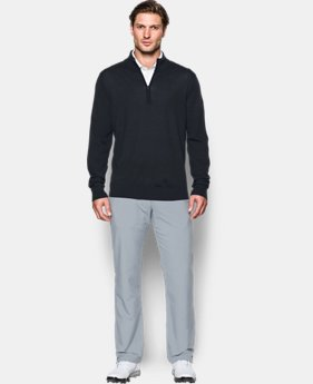Men's UA Tips ¼ Zip Sweater  1 Color $104.99