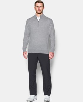 Men's UA Tips ¼ Zip Sweater  1 Color $119.99
