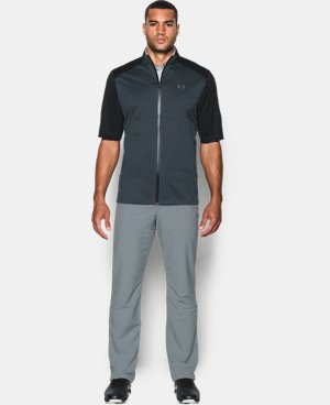 New Arrival Men's UA Storm Rain ½ Sleeve  1 Color $124.99