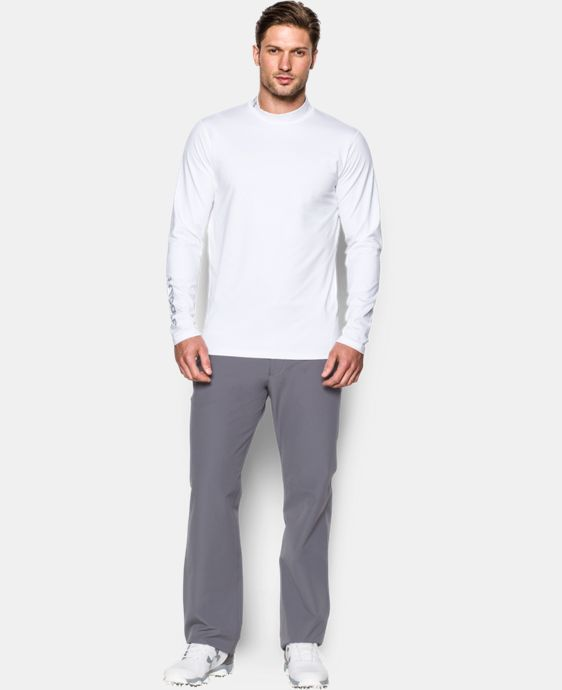 Men's UA Golf ColdGear® Mock  3 Colors $44.99
