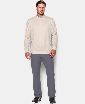 Men's UA Storm SweaterFleece Crew LIMITED TIME OFFER + FREE U.S. SHIPPING 1 Color $52.49