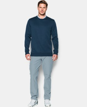 New Arrival  Men's UA Storm SweaterFleece Crew  1 Color $79.99