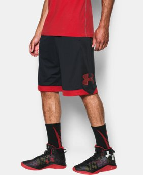 Men's UA Isolation Basketball Shorts  1  Color Available $34.99