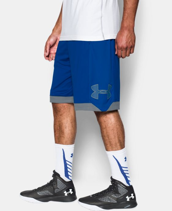 New Arrival  Men's UA Isolation Basketball Shorts   $39.99