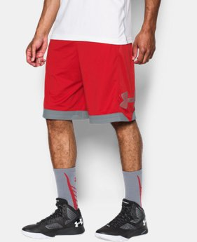 Men's UA Isolation Basketball Shorts LIMITED TIME: FREE SHIPPING 2 Colors $34.99